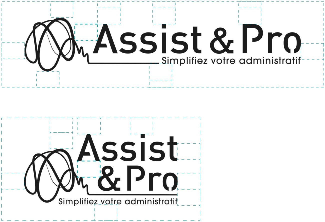 construction du logo et de son alternative