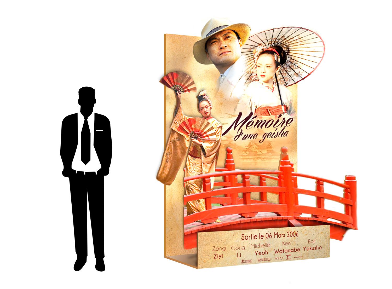 PLV film mémoire d'un geisha