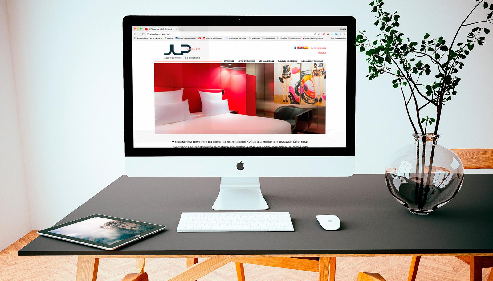 Webdesign JLP concept
