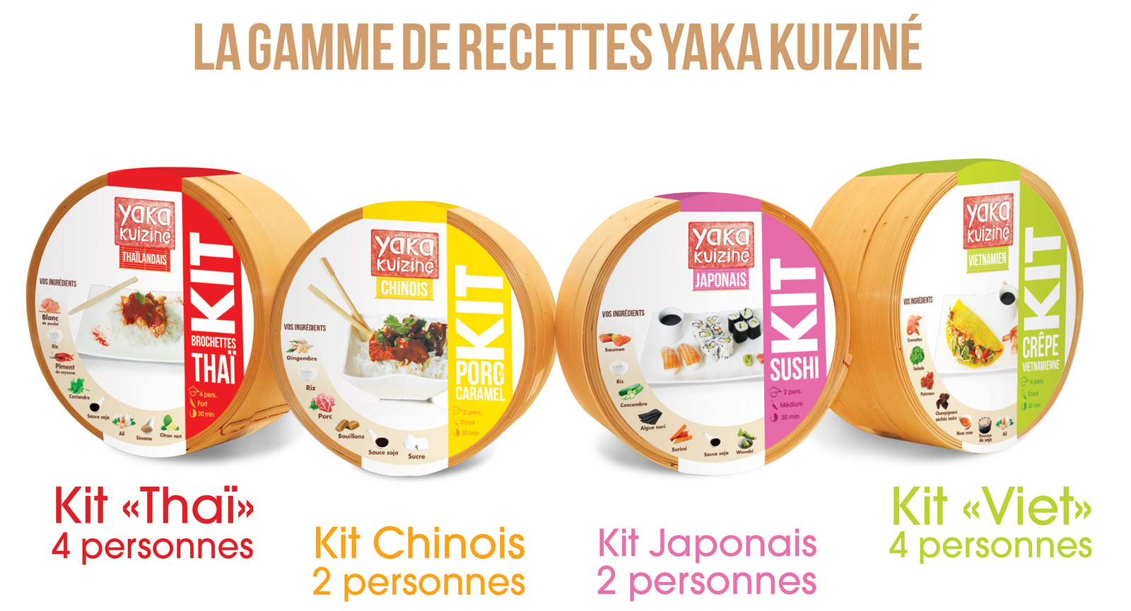 Packagings yaka kuiziné
