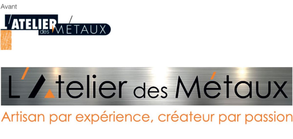 Nouveau logo atelier des métaux